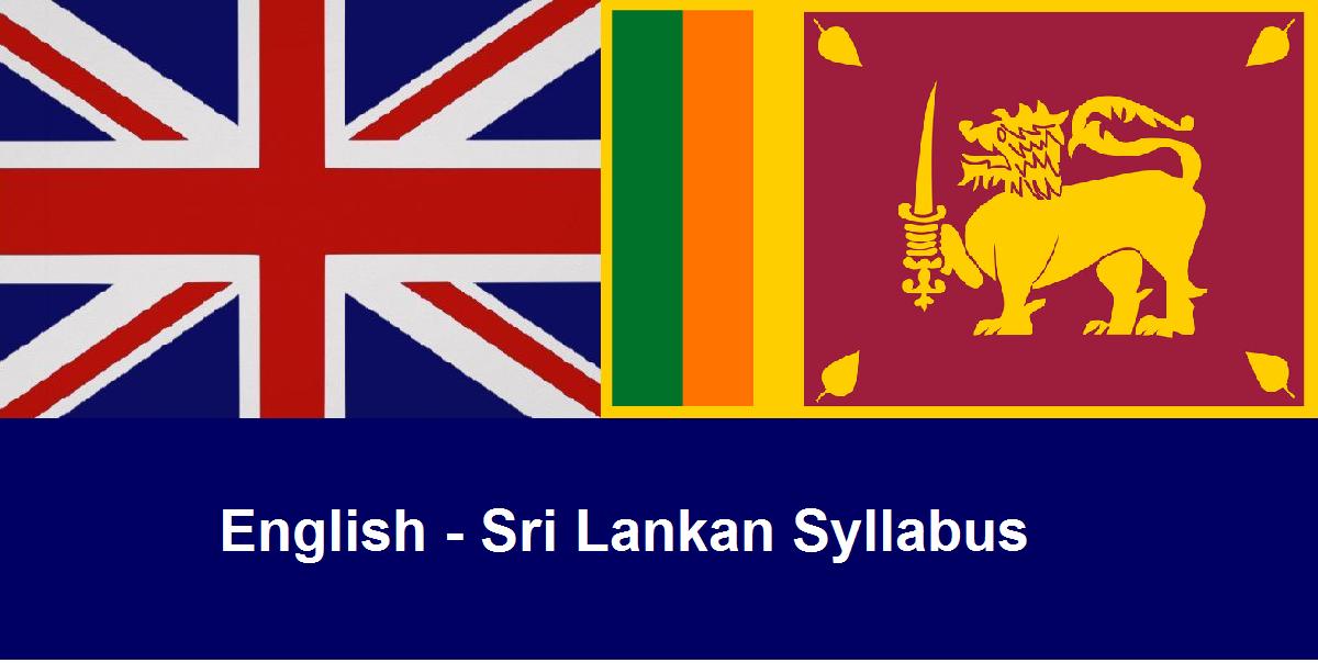 English Sri Lankan Grade 9 - Mass Class