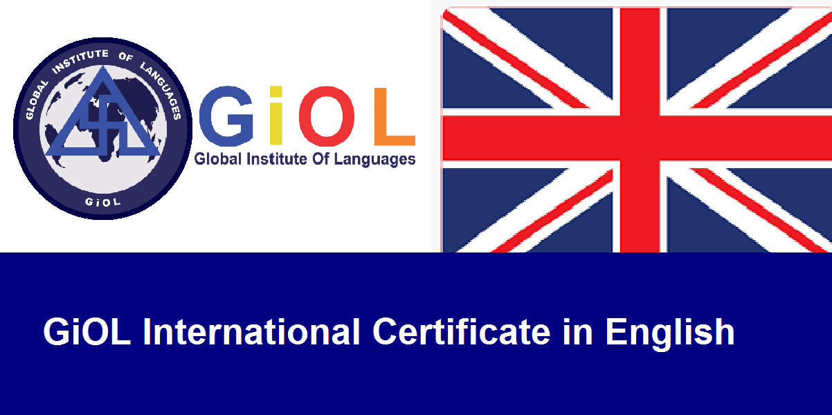 GiOL International Certificate in English Lang - Group Class