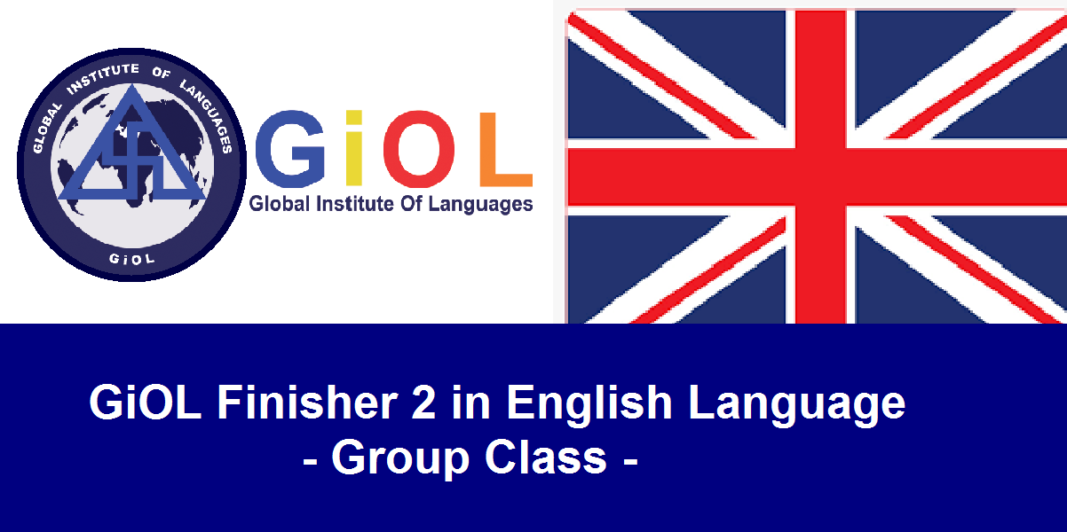 GiOL  Finisher 2 in English Language - Group Class