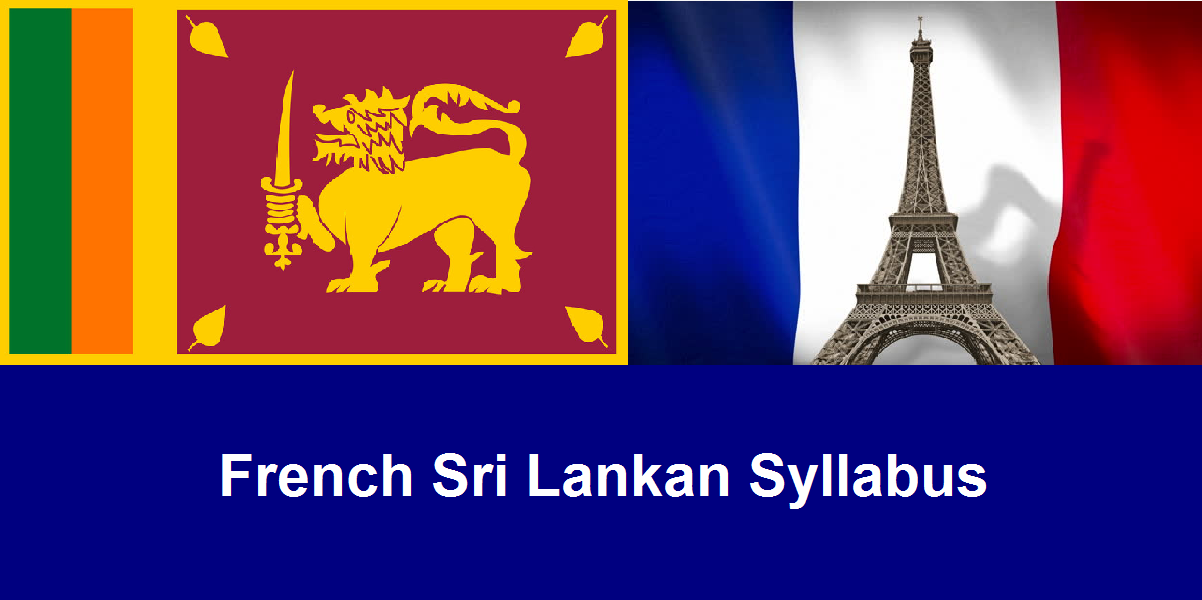 French for Lankan Grade 13 - Group Class