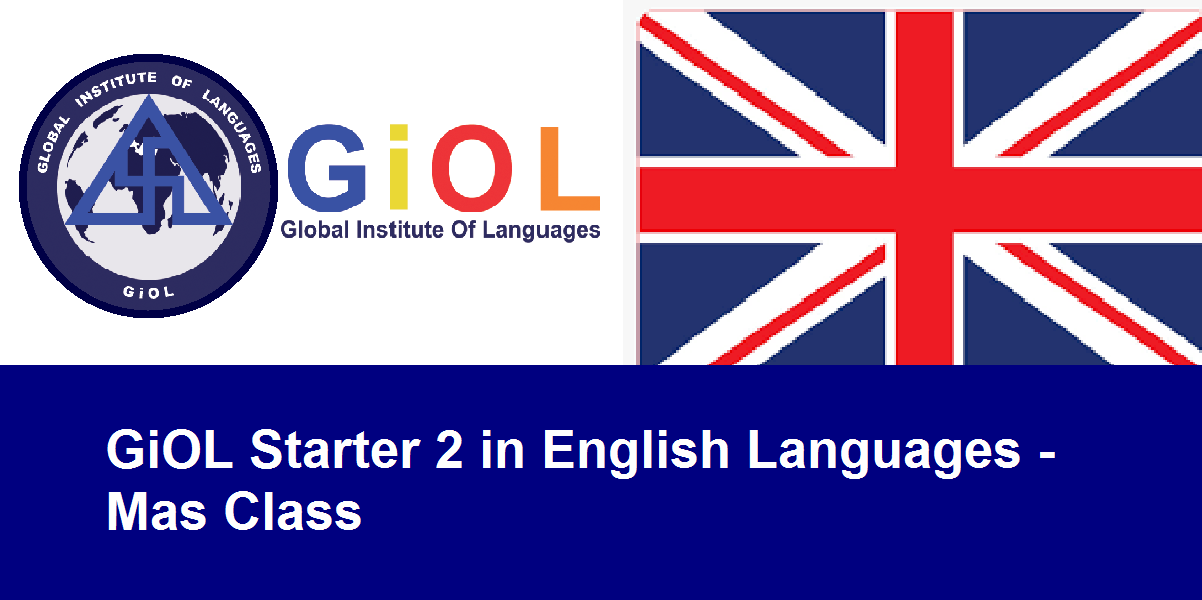 GiOL Starter 2 in English Languages - Mas Class